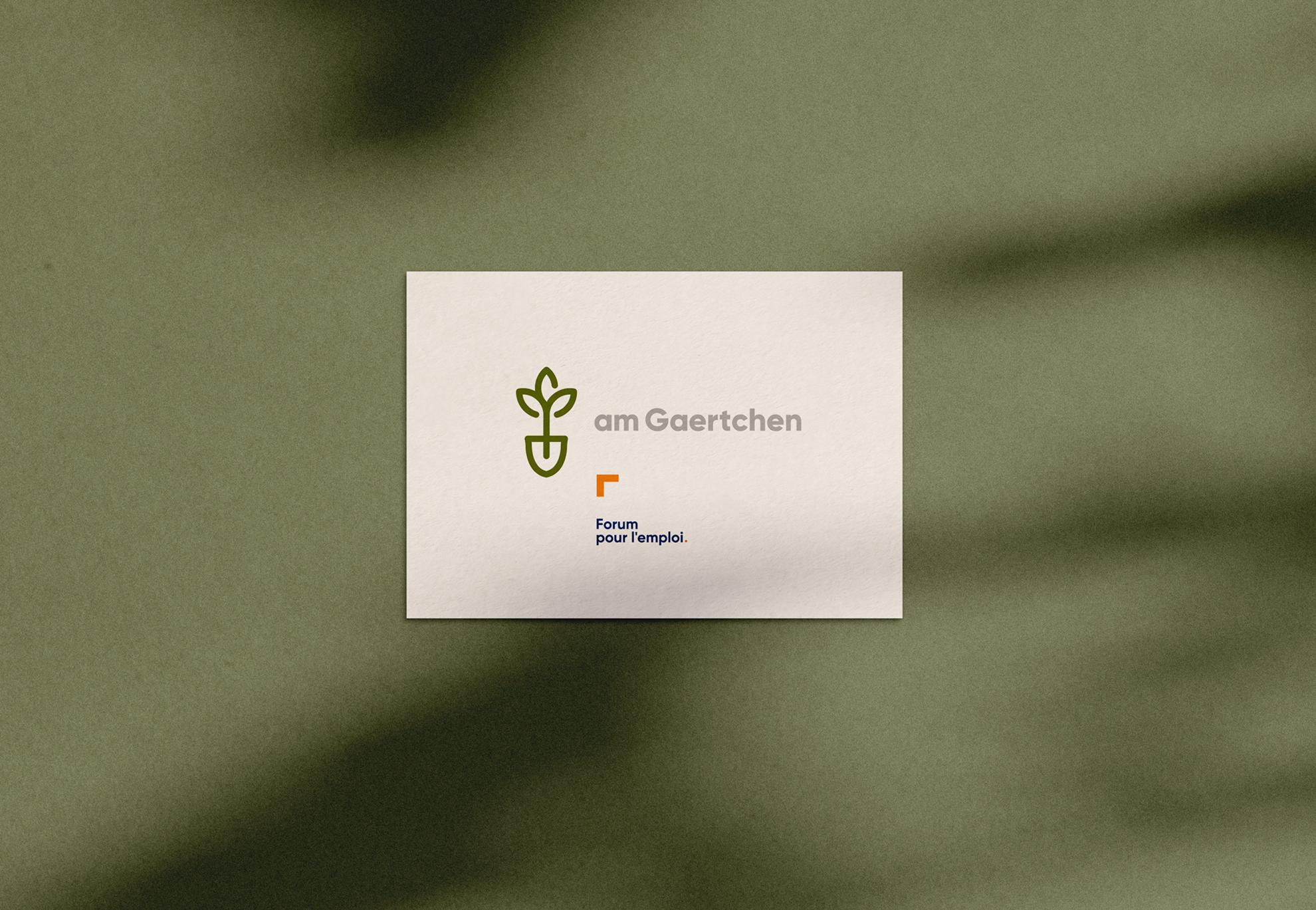 Am Gaertchen - packaging design, étiquettes, cartes de visite