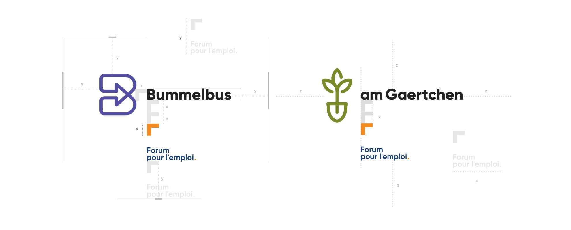 Forum pour l'emploi grid logo