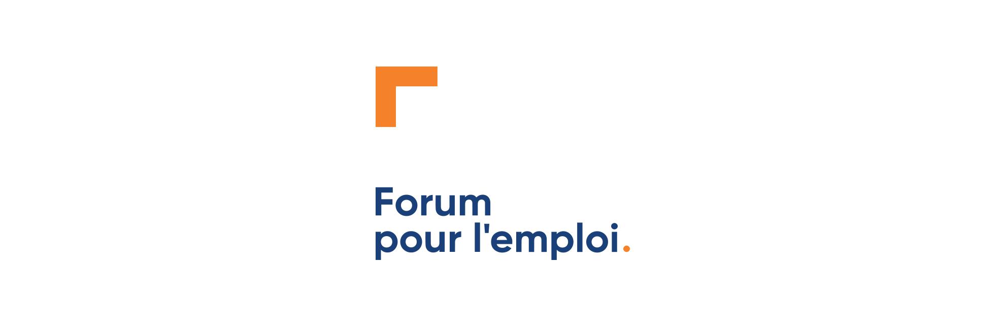 Nouveau Logo Forum pour l'emploi