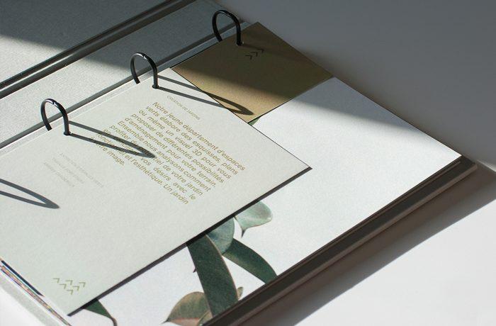 Luxforêt et Jardin - identité visuelle