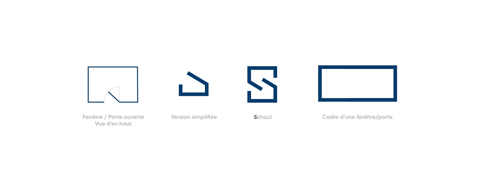 Schaul & Cie Logo - identité visuelle création Logo